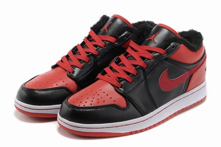 AAA men jordan 1 warm shoes-001