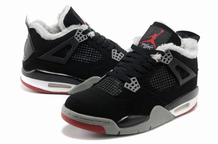 AAA men jordan 4 Warm shoes-002