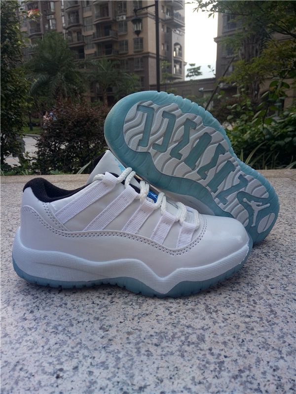 kid low top jordan 11 shoes retro-001