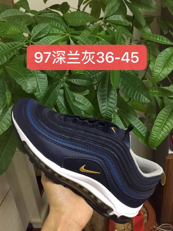 men air max 97 size US7(40)-US11(45) shoes-069