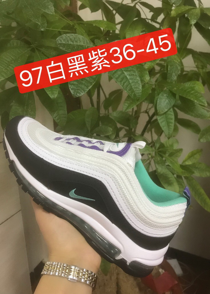 men air max 97 size US7(40)-US11(45) shoes-100