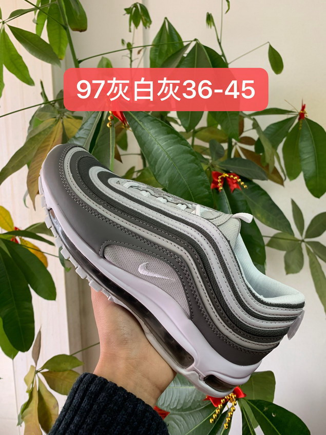 men air max 97 size US7(40)-US11(45) shoes-166