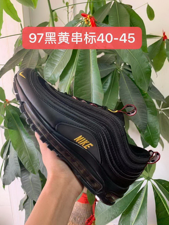 men air max 97 size US7(40)-US11(45) shoes-188