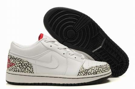 men low top jordan 1 shoes-006