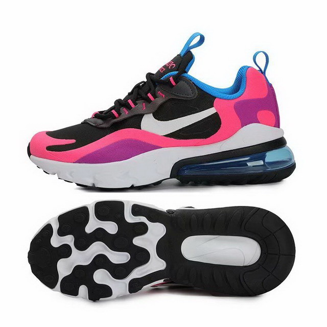 women air max 270 react shoes size US5.5(36)-US8.5(40)-001