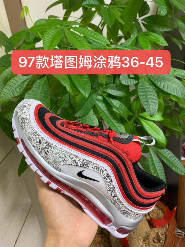 women air max 97 shoes size US5.5(36)-US8.5(40)-081