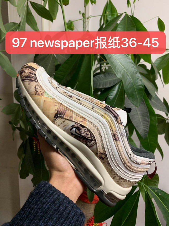 women air max 97 shoes size US5.5(36)-US8.5(40)-170