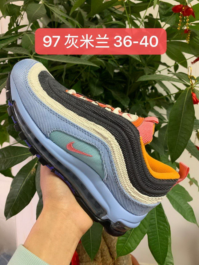 women air max 97 shoes size US5.5(36)-US8.5(40)-178